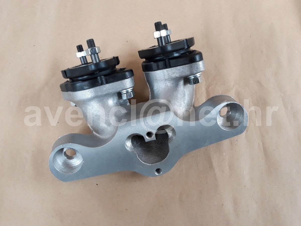 Fiat 500 126 Abarth Single Port Intake Manifold For Weber Dcoe Dellort Dhla Solex Classic Performance Parts