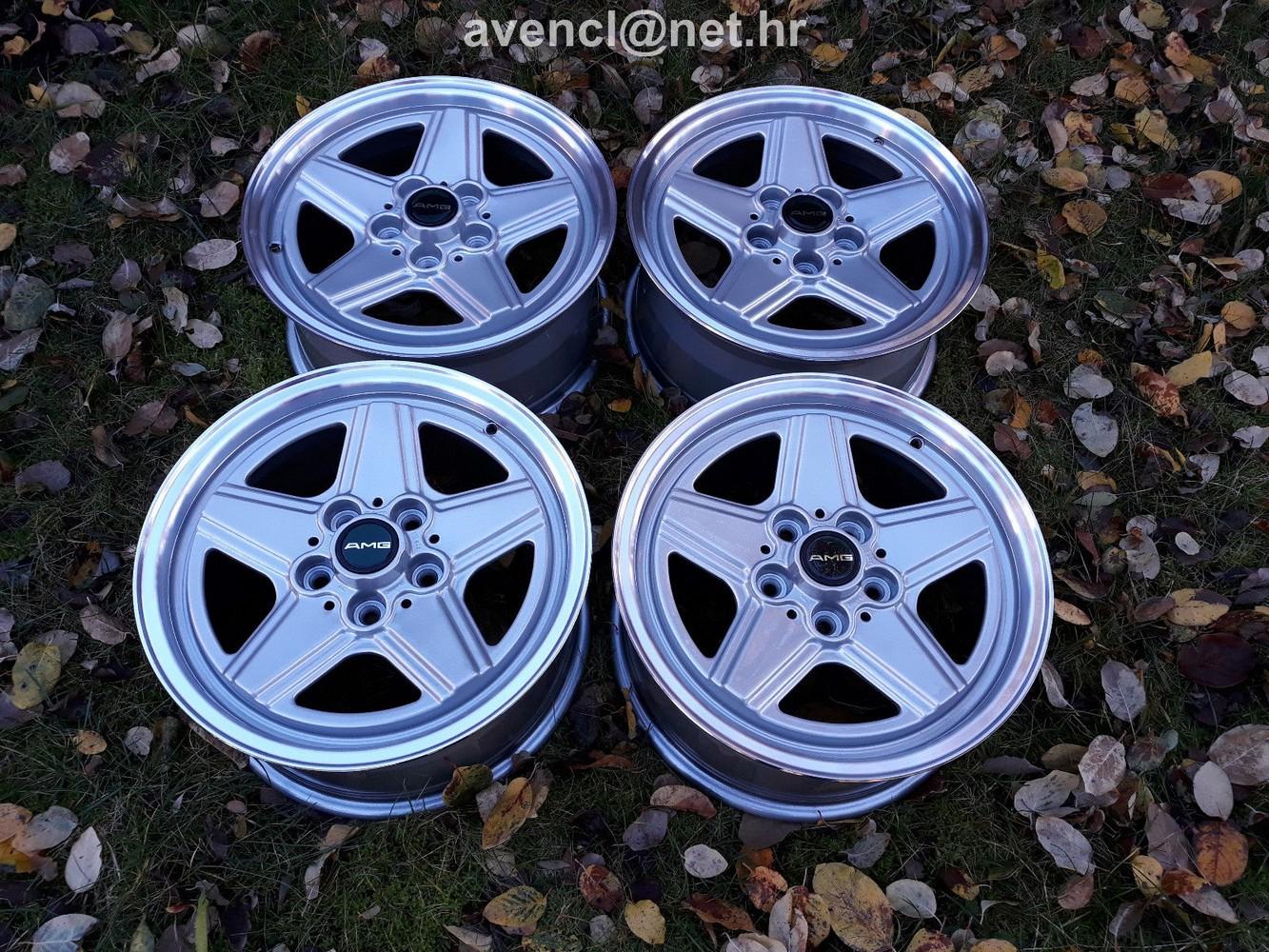 Mercedes Benz Rims >> Mercedes Amg Gen Ii Wheels Rims 16 W201 W124